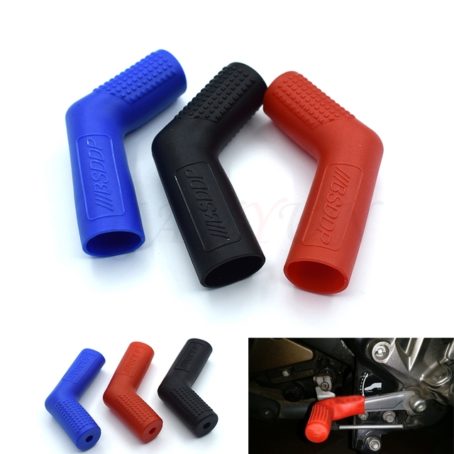 Gear Shift Sock clips Shifter Shoe Case Cover Motorcycle Accessories for Yamaha R1 R6 R125 R15 FZ16 FZ1 MT09 MT07 FZ6 XJR1300