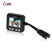 Dual 720P D1 lens mini font b motorcycle b font DVR motorbike font b camera b