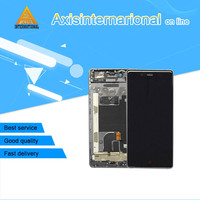 Axisinternational Lcd Screen Display Touch Digitizer With Frame For 5 2 ZTE Nubia Z9 NX508J NX508