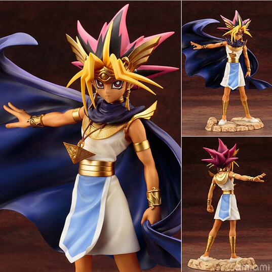 NEW hot 24cm Duel Monsters ATEM Yugi Muto action figure toys collection Christmas gift with box new hot 17cm one piece shirahoshi action figure toys collection christmas gift with box