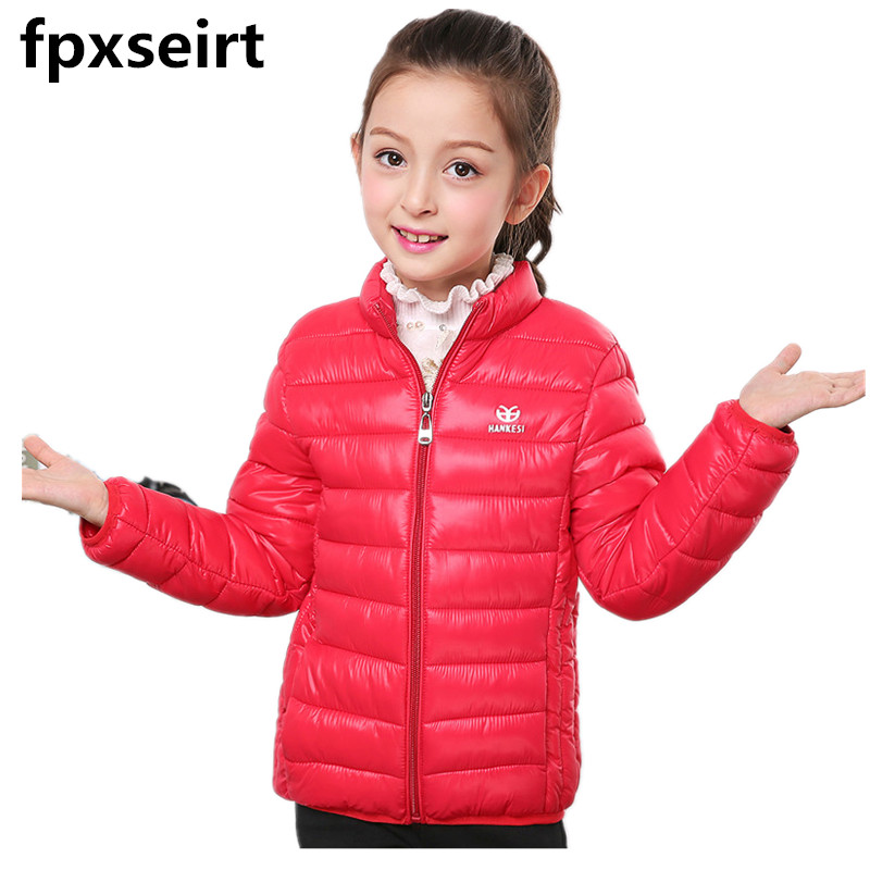 2017 Children Jackets For Boys Girls Clothing Spring Autumn Winter Cotton Coats  Hooded Parkas Child Coat 6 Color For  3-7Years 2017 children jackets for boys girls winter down cotton coats kids thickening wadded jacket hooded parkas child coat