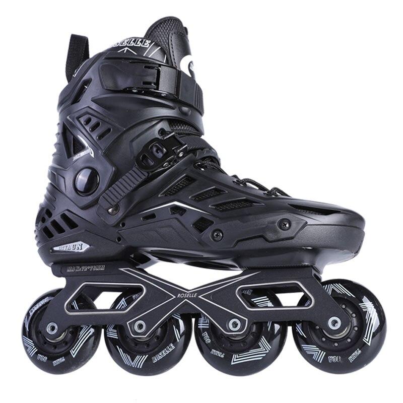 Patins à roues alignées de Fitness pour hommes avec cadres en aluminium roues en polyuréthane à bascule