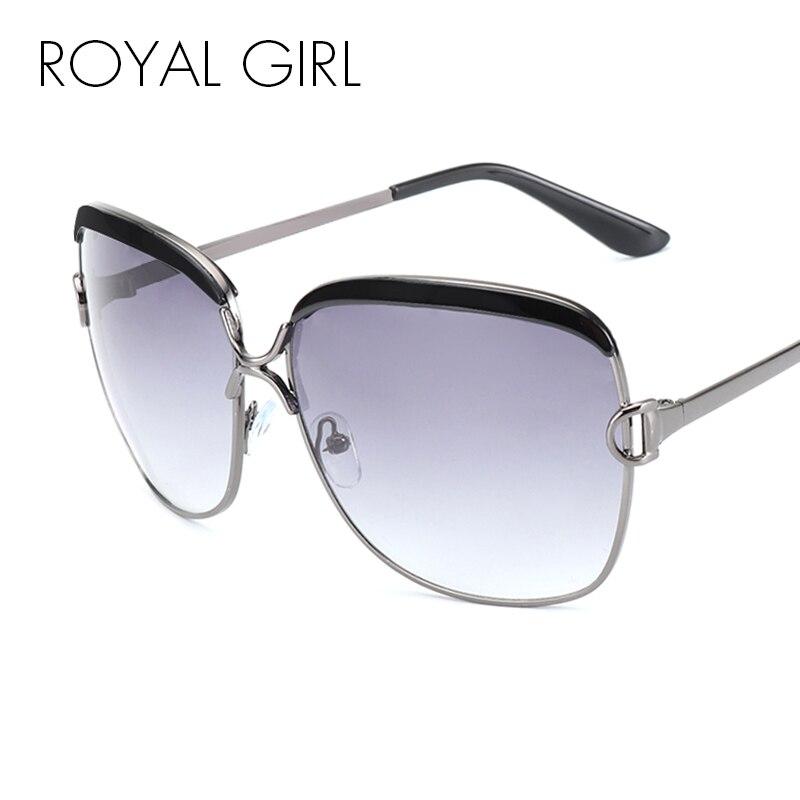 ROYAL GIRL High Quality Women Brand Designer Sunglasses Summer ...