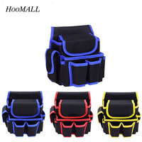 Hoomall Electrical Tool Kit Straight Package Thickening Oxford Canvas Hardware Waist Tool Bag Multifunction Multi Pocket