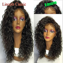 Unprocessed Virgin Brazilian Hair Lace Front Human Hair Wigs Kinky Curly Full Lace Wigs With Baby Hair 130% for black women