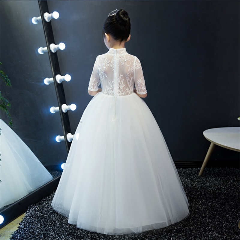 Nova chegada vestidos da menina de flor