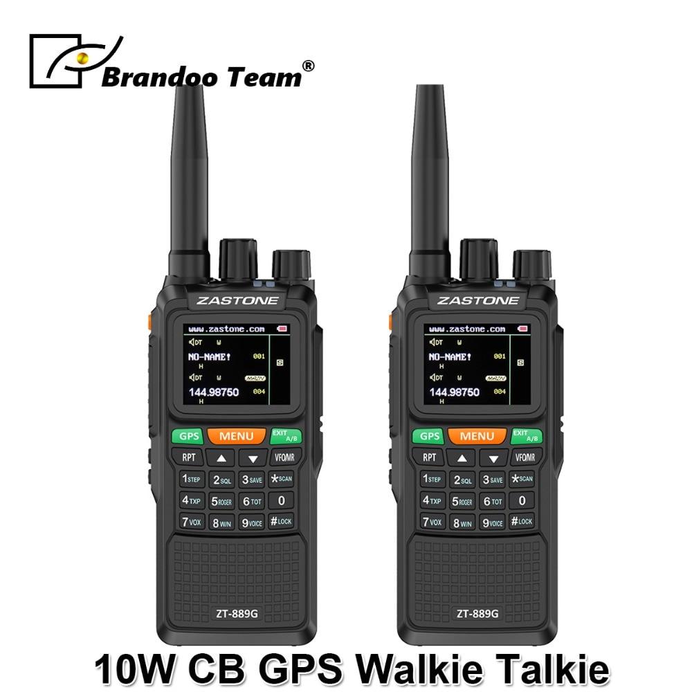 Sicherheit & Schutz 2 Stücke 889g Portable Two Way Radio 5 Km-10 Km Uhf/vhf 10 W 999ch 3000 Mah Walkie Talkie Ham Cb Radio Comunicador Für Erkunden Kunden Zuerst