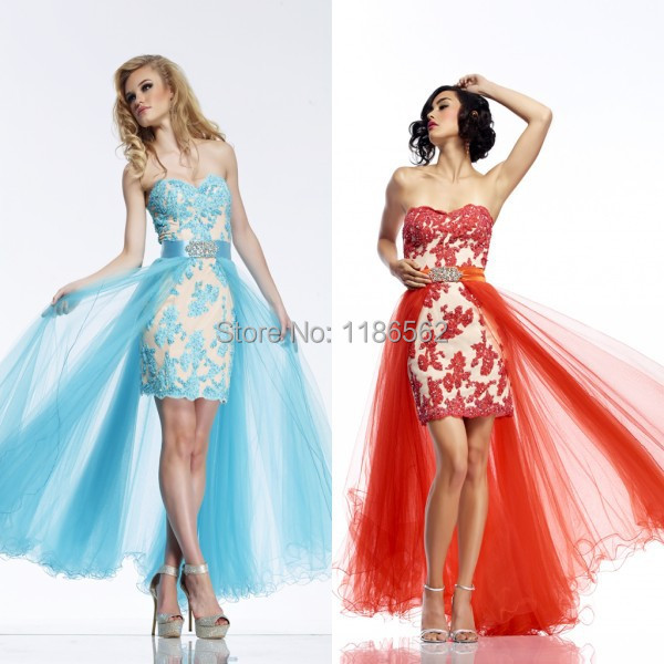 Pretty Light Blue Prom Dresses Promotion-Shop for Promotional ...