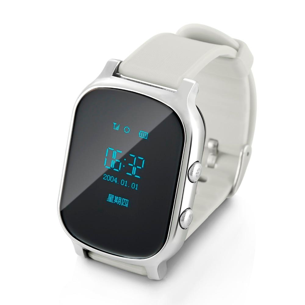 Smart Phone Watch Children Kid Wristwatch GSM GPRS GPS Locator Tracker Anti-Lost Smartwatch Child Guard for iOS Android