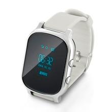 Reloj Del Teléfono inteligente Niños Kid Reloj GSM GPRS GPS Localizador Rastreador Anti-perdida Smartwatch Niño Guardia para iOS Android