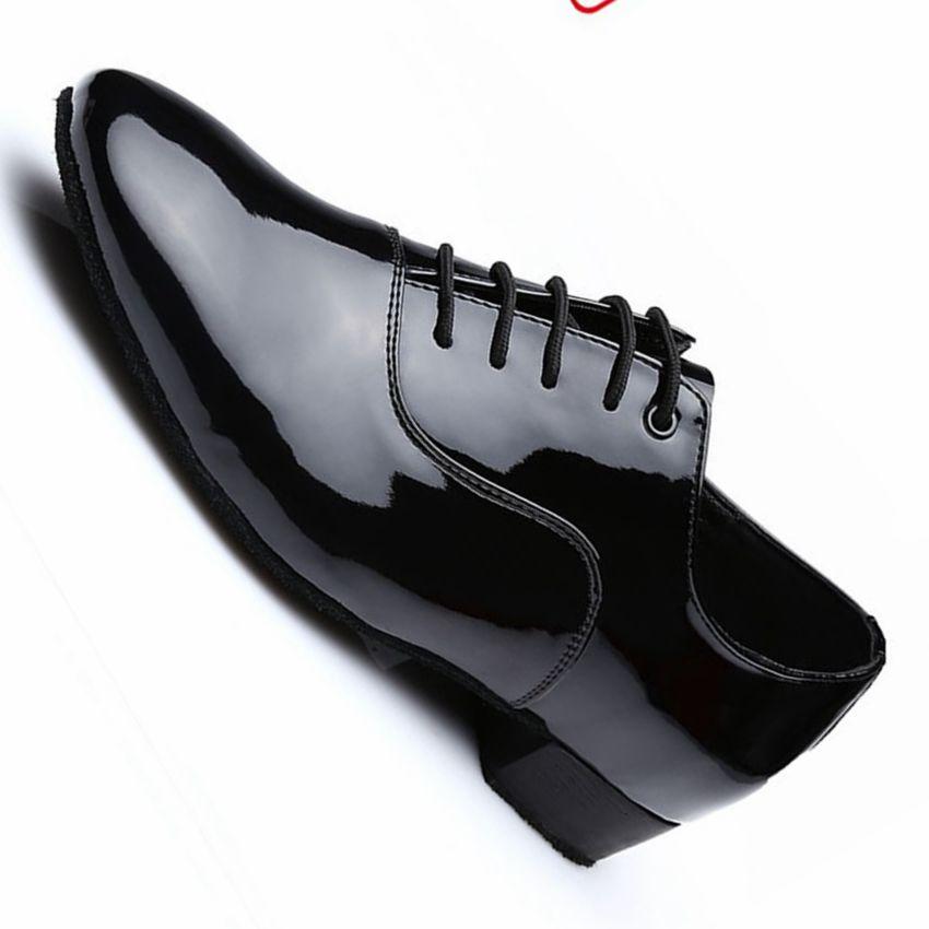 Professional Men Modern Dance Shoes Sneakers For Men Soft Genuine Leather Sole Waltz Ballroom Dancing Shoes Men Dance Sneakers