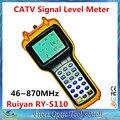 Высокая Точность Цифрового КАБЕЛЬНОГО ТЕЛЕВИДЕНИЯ Уровень Сигнала Meter Ruiyan RY-S110 46 ~ 870 МГц