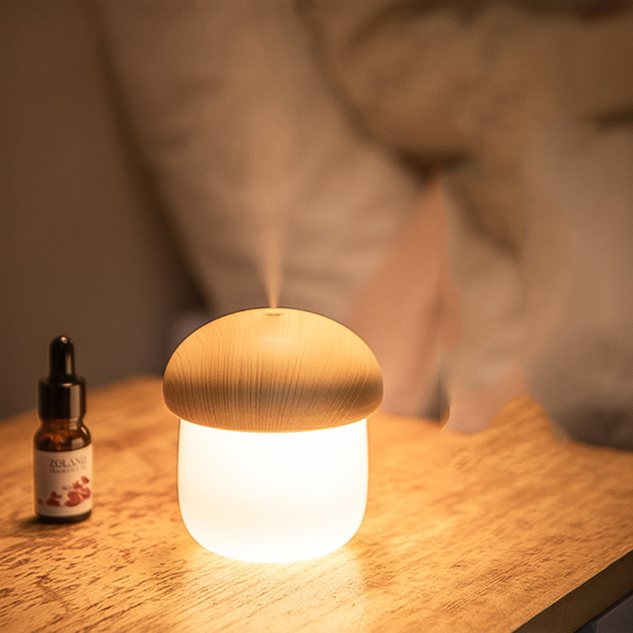 Brûleur d'huile essentielle Usb maison humidificateur Air blanc méditation nébuliseur huiles essentielles parfum lampe diffuseur odeur à la maison 6B3 - 4