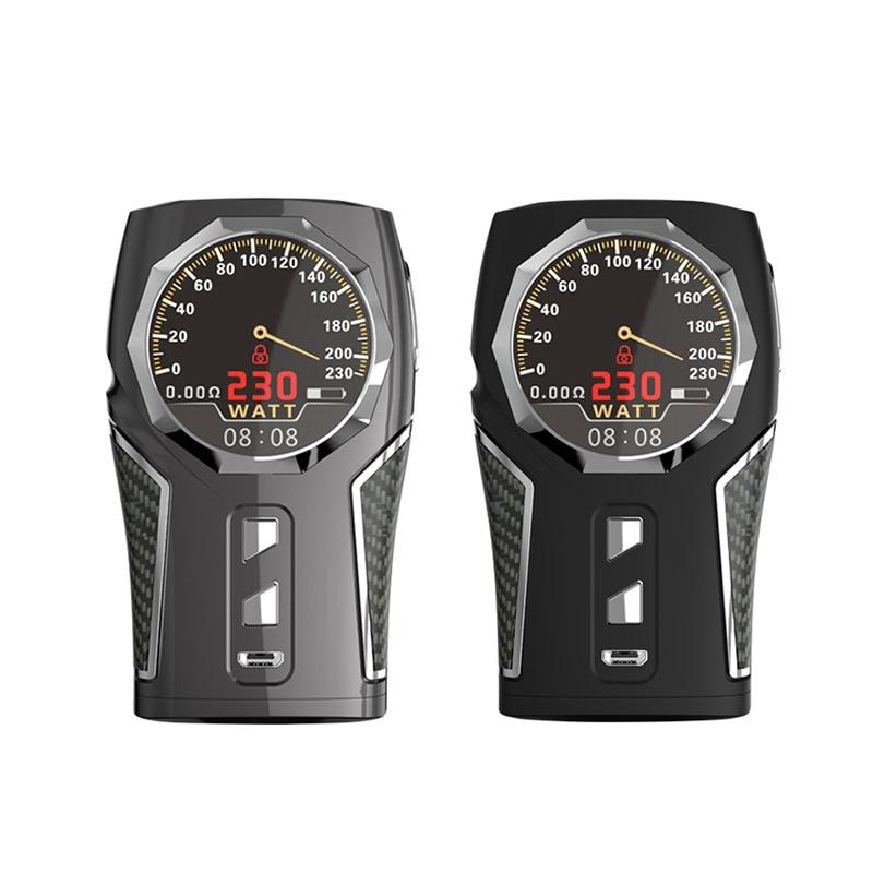 Electronic Cigarette TC Box Mod Original Sigelei Top 1 Fashion Design 230W Support software upgrade Temperature