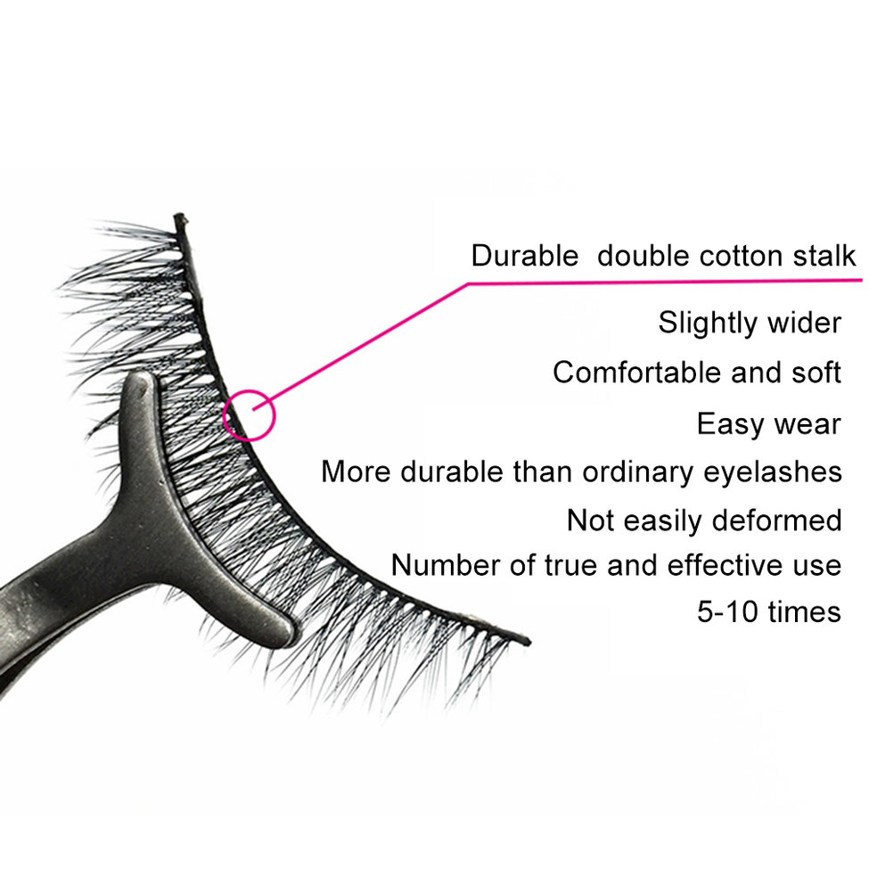 цена на 10Pcs Sexy 100% Handmade 3D mink hair Beauty Thick Long False Mink Eyelashes Fake Eye Lashes Eyelash High Quality
