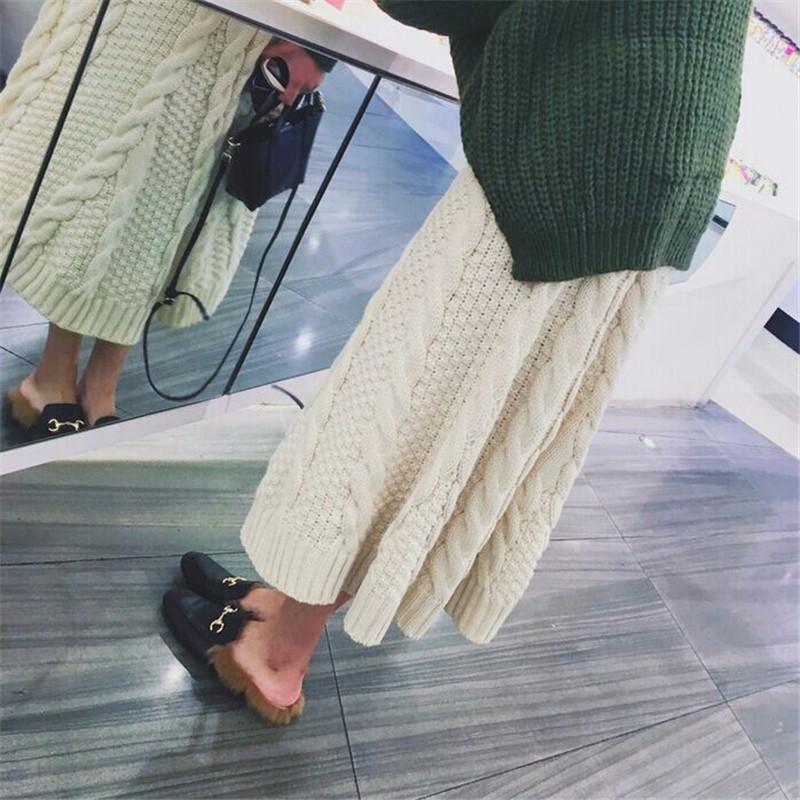 winter thick skirt 07