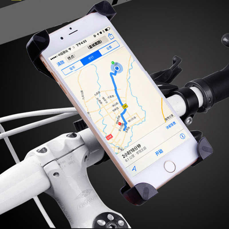 Phone Holder on Bike Motorcycle Soporte Movil Moto Bicycle Mobile Bracket for Width 3 5 7inch
