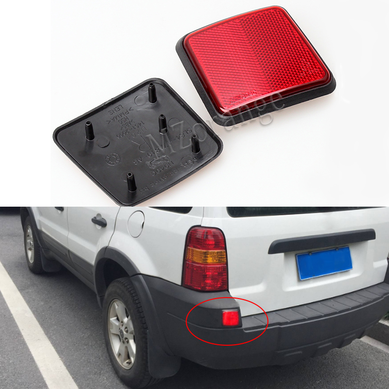 Car Tail Rear Per Reflector Warning Light For Ford Escape Kuga 2005 2006 2007