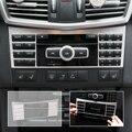 Consola Central Botão Interruptor Do Painel Painel decorativo Interior Guarnição Da Tampa para Mercedes Benz W212 Classe E 2010 2011 2012 2013-2015