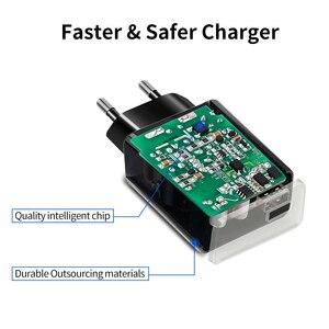Image 5 - Nillkin universel USB chargeur rapide adaptateur prise murale Portable téléphone Portable bureau intelligent pour iPhone pour xiaomi AC Port USB cc