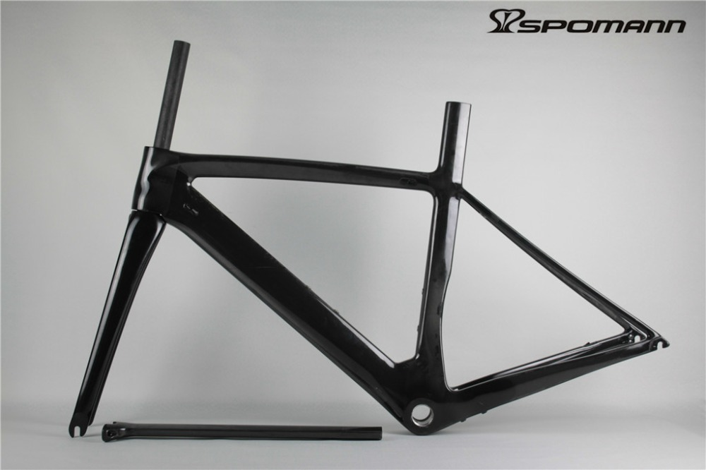 2017 Cheap Road Bicycle Carbon Frame 700C Bicicleta Carbono Bici Telai Carbon Bike Track Cycling Race Frame Road Bicycle Parts