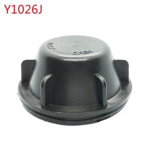 Image 1 - 1 pc עבור kia K2 2009 2013 מנורת עם מורחב חזרה כיסוי אבק כיסוי LED פנס איטום כיסוי H4 הנורה אחורי כובע