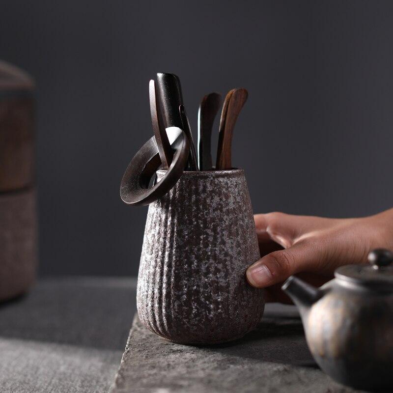 Ensemble de cérémonie de thé en céramique vintage TANGPIN accessoires de thé kung fu liujunzi - 4
