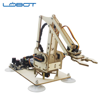 DOF Robot Arduino Best Deal Mearm DIY 4 Axis Rotating Kit With Joystick Button Controller RC Parts Robot