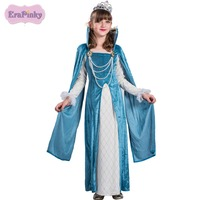 Erapinky Girls Costumes Kids Teens Clothes With Beading Long Sleeve Girl Dress For Party Show Fashion