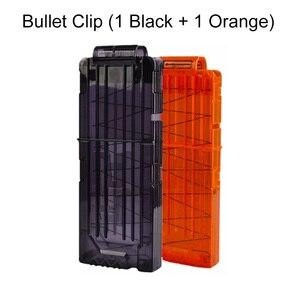 Image 5 - Taktik ekipman tabancası servis Bullet dergisi Nerf dolum mermi oyuncak tabanca aksesuarları mermi klip tutucu kılıfı çocuklar için