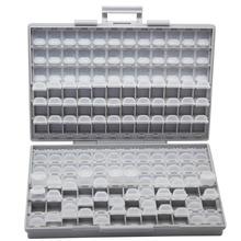 AideTek SMD rezystor kondensator przechowywanie koralików białe pudełko typu organizer plastikowa skrzynka na narzędzia elektronika pudełka do przechowywania i organizery BOXALL tanie tanio Z tworzywa sztucznego