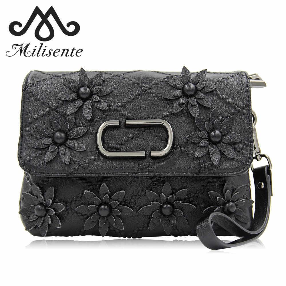 27a2255158d2 Milisente 2018 новые модные женские туфли сумка дамы в виде ракушки Женский  сумки черный Малый ленточки