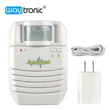 Новый крытый MP3 датчик движения громкоговоритель голос телекомпания пир ик-детектор главная охранной сигнализации