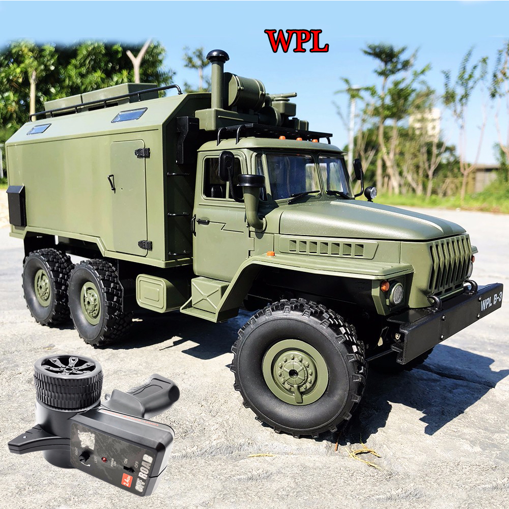 Hot Sale WPL RC Truck B36 Ural 1 16 2 4G 6WD Military Truck Rock Crawler