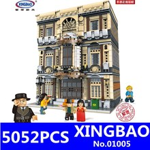 XingBao 01005 Creative MOC City Series The Maritime Museum Set Model Kit Building Blocks Bricks Toys For Children Lepining Gifts in stock xingbao 03001 1143pcs creative moc city series the citizen akira moto set building blocks bricks boy toys model gifts