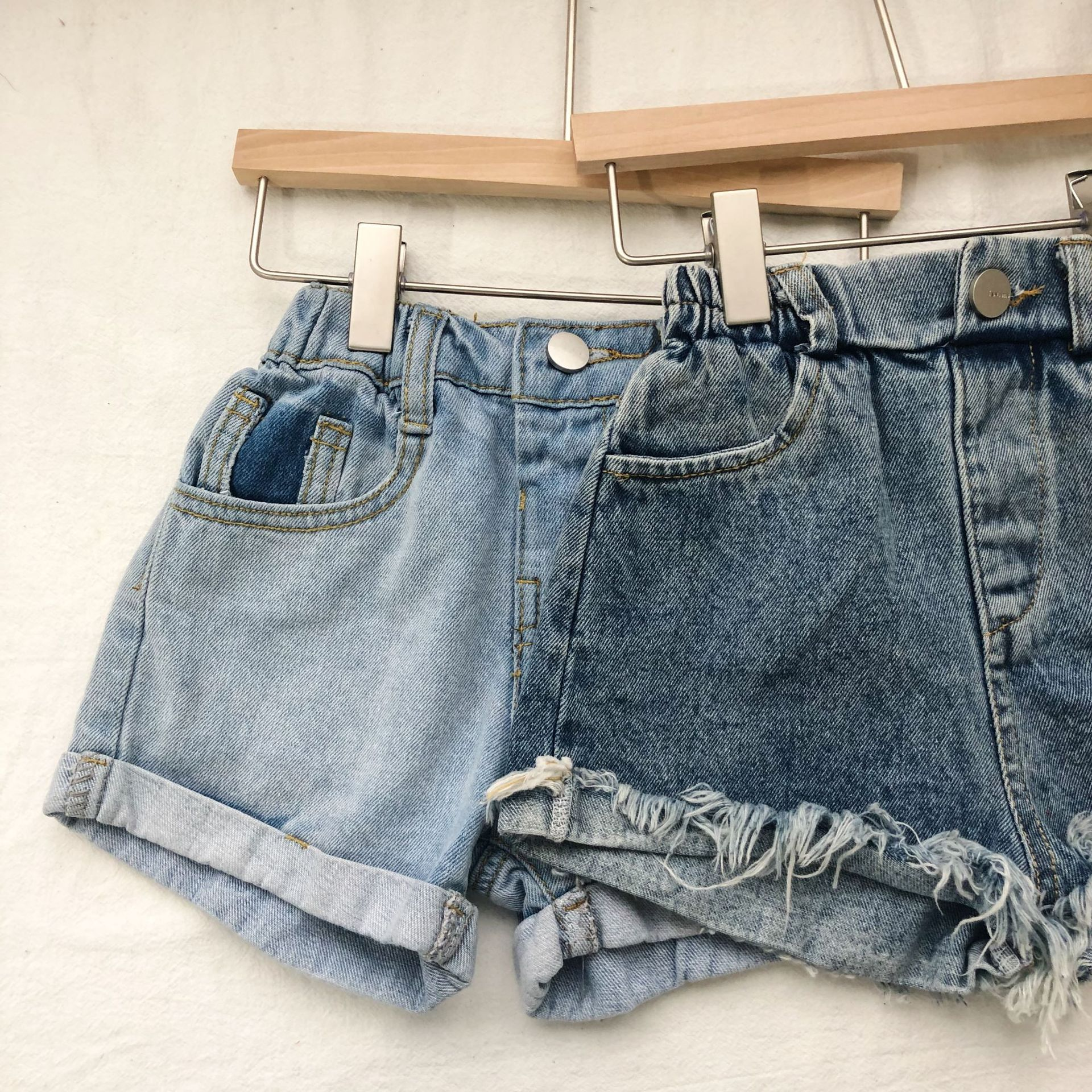 2019 Summer New Childrens Cowboy Shorts Toddler Infant Baby Boys and Girls  Hairy Jeans Kids Casual Clothes Boys Burr Trousers2019 Summer New Childrens Cowboy Shorts Toddler Infant Baby Boys and Girls  Hairy Jeans Kids Casual Clothes Boys Burr Trousers