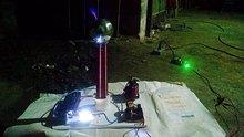 DIY tesla coil flashing Generator Teaching experiment