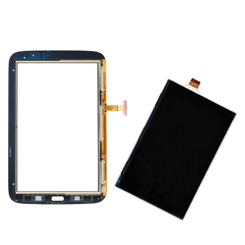 Black/White For Samsung Galaxy Note 8.0 N5110 GT-N5110 Touch Screen Digitizer Sensor Glass + LCD Display Screen Panel Monitor replacement digitizer touch screen for dual sim samsung galaxy gt i9082 white