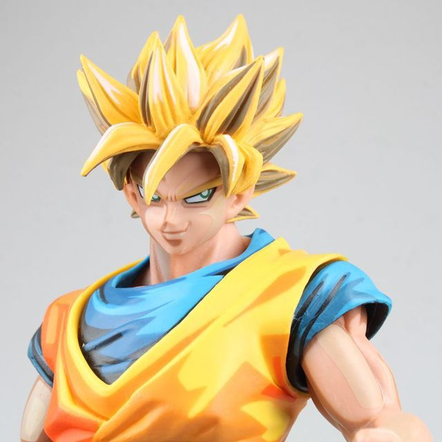 Zoon Goku Cartoon Kleur Dragon Ball Z Geel Gokou Super Saiyan