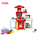 New Arrival  House Kitchen Utensils Taiwan Kindergarten Children Role Toy Little Chef Deluxe Kitchen Utensils for kid best gift
