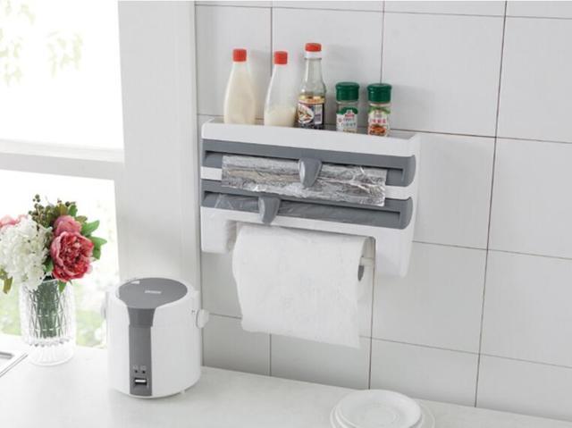 Wrap Folie Keuken : In voedsel wrap folie deksel keuken leuker met rol papier