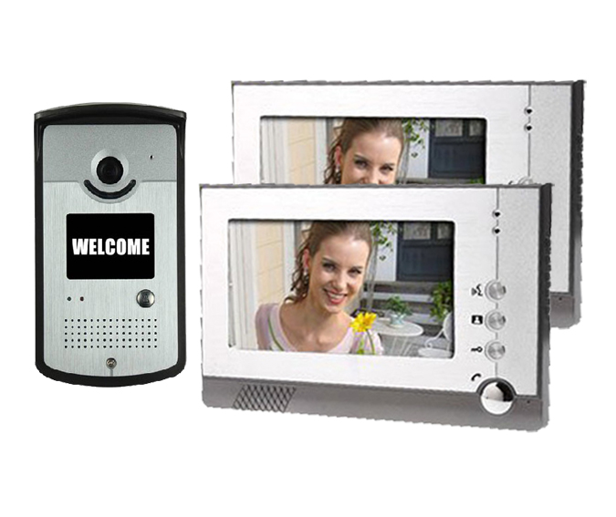 Yobang Security Color Screen video door phone system unit Night Vision Doorbell Home Security porteros electricos con camaras