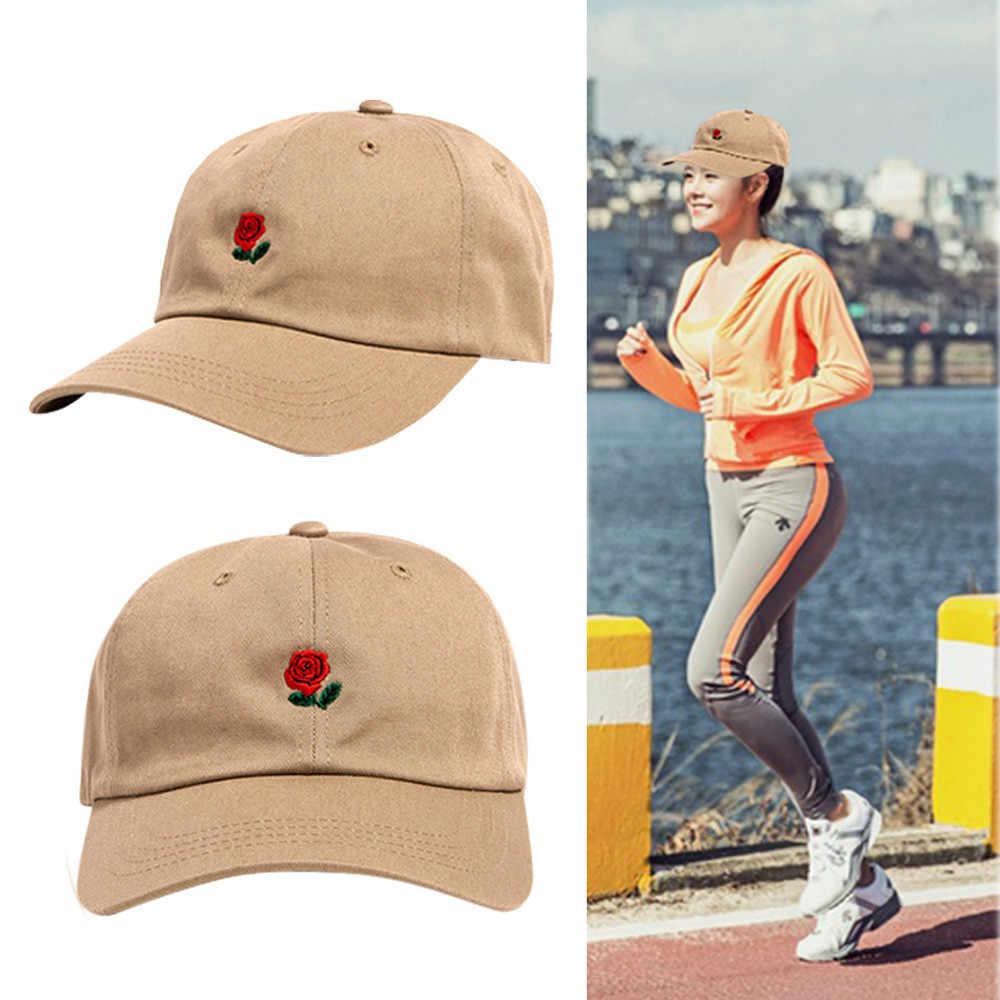 الرجال النساء قبعة بيسبول زهرة مطرزة زوجين قبعة Unis قبعة قابلة للتعديل أبي قبعات casquette кекللنساء