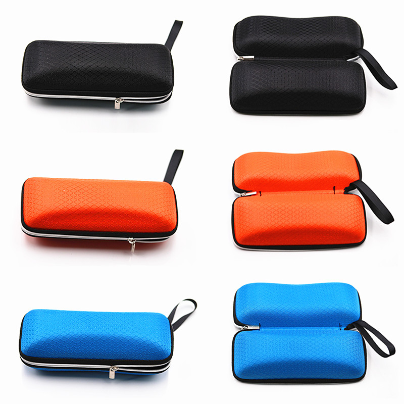 COLOUR_MAX Portable Fiber Colorful Cover Sunglasses Case For Women Eyewear Accessories in Eyewear Accessories from Apparel Accessories