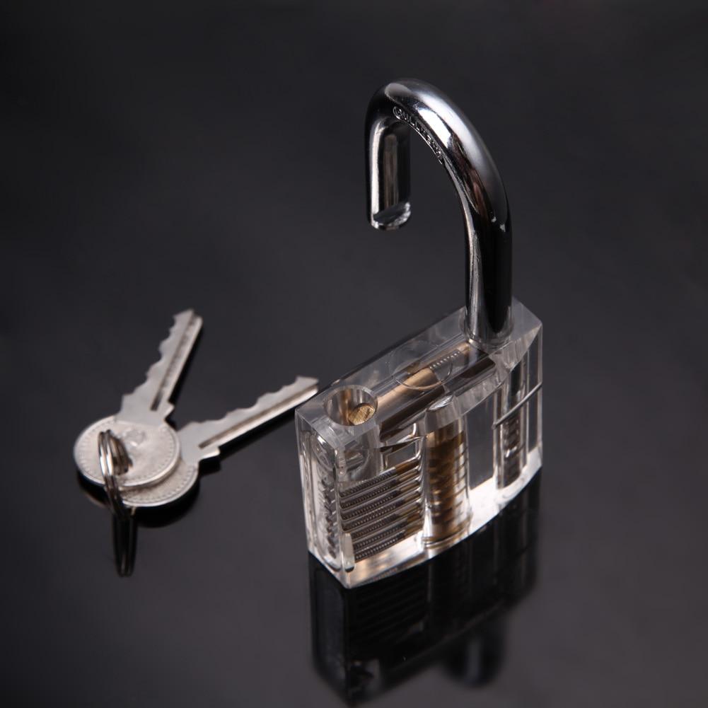 professional lock pick set padlock lock picks cutaway inside view