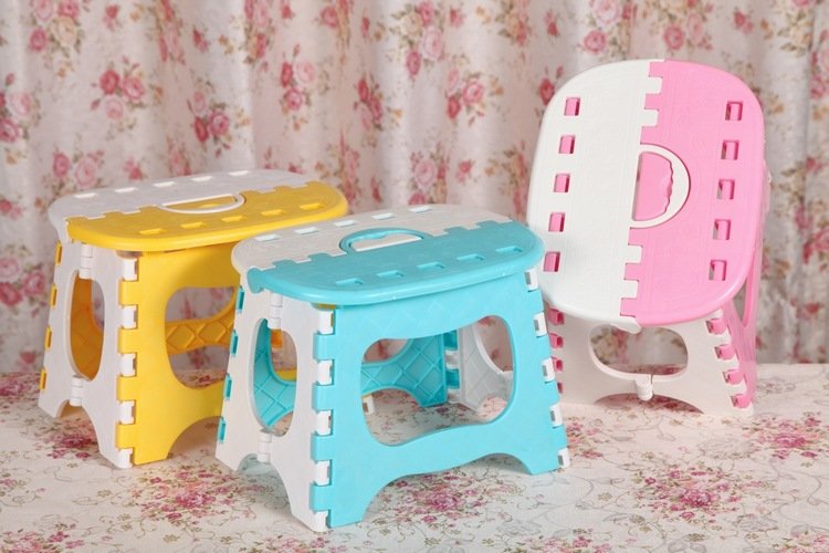 Wholesale 25*18*20cm Portable Folding Children's Stools Thicken Durable Outdoor Fishing Small Stool