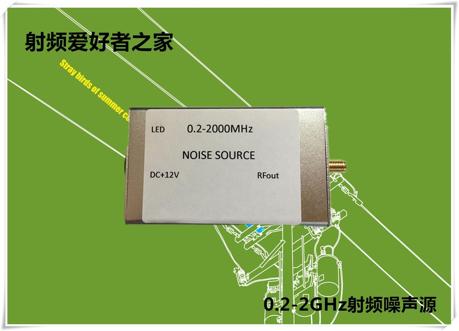 Noise Signal Generator Noise Source Spectrum Tracking Signal Source 0.2-2000M Flatness High цена 2017
