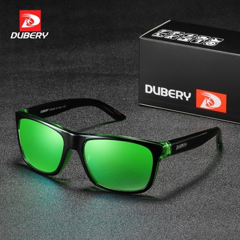 DUBERY Sunglasses Men's 2019 Retro Male Goggle Colorful Sun Glasses For Men Fashion Brand pilot Mirror Shades Oversized Oculos