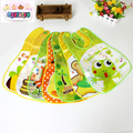 BBHL044 The new foreign trade OEM manufacturing perspective bib infants and children's meals pocket EVA baby bibs