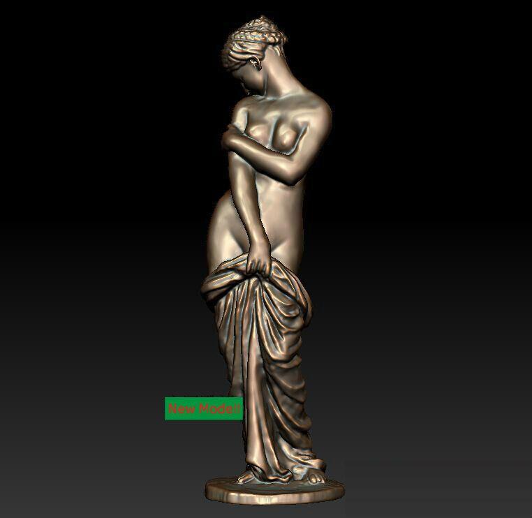 3D Model Stl Format For Cnc Machine Plain Women